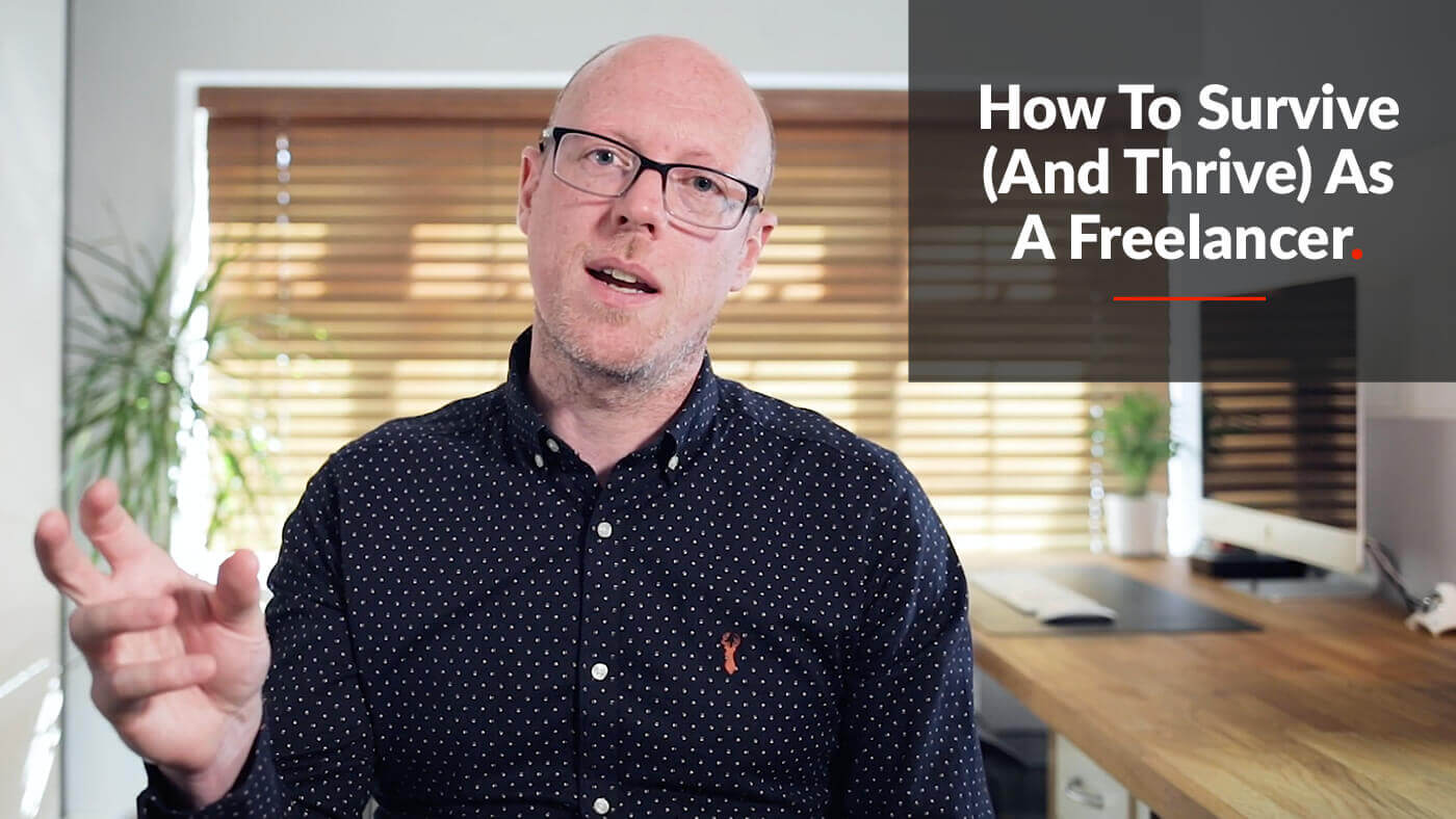 Skillshare Class: How To Survive (And Thrive) As A Freelancer